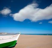 Valencia Malvarrosa Patacona beach Mediterranean sea Royalty Free Stock Image