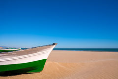 Valencia Malvarrosa Patacona beach Mediterranean sea Royalty Free Stock Photo