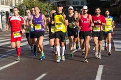 Valencia Marathon Stock Image