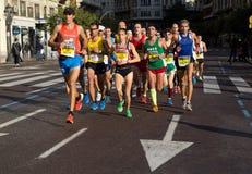 Valencia Marathon Royalty Free Stock Photo