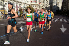 Valencia Marathon Royalty Free Stock Photos