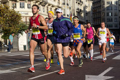 Valencia Marathon Stock Photography