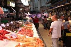 Valencia market Stock Images