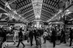 Valencia market Stock Photos