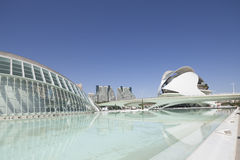 VALENCIA 22 MAY 2017 : City of Arts and Sciences : garden Royalty Free Stock Images