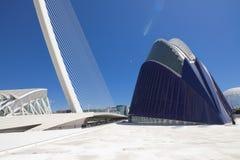 VALENCIA 22 MAY 2017 : City of Arts and Sciences - Valencia bridge Stock Photography