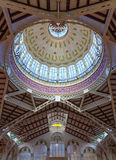 Valencia Mercado Central market dome indoor Royalty Free Stock Image