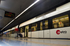 Valencia Metro fotografia stock