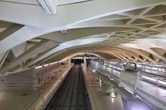 Valencia Metro Station Stockfotografie