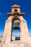 Valencia Miguelete belfry tower Micalet in Spain Stock Images