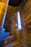 Valencia Miguelete Micalet indoor tower stairs Royalty Free Stock Images