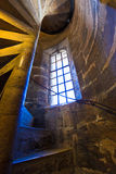Valencia Miguelete Micalet indoor tower stairs Royalty Free Stock Photos