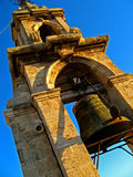 Valencia, Miguelete Tower 03. The bells of Miguelete Tower in the Cathedral of Valencia in Valencia, Spain Royalty Free Stock Image