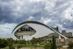 Valencia, modern architecture Stock Image