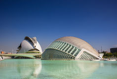Valencia, modern architecture Royalty Free Stock Image