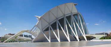 Valencia, modern architecture Royalty Free Stock Photos