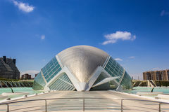 Valencia, modern architecture Stock Photos