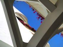 Valencia modern del av staden Royaltyfri Fotografi