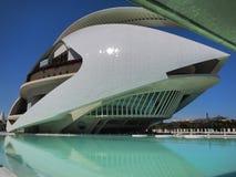 Valencia modern del av staden Arkivfoton