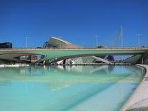 Valencia modern del av staden Royaltyfri Foto