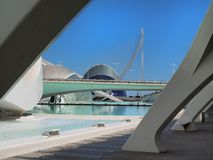 Valencia ,modern part of the city Royalty Free Stock Photography