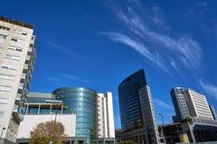 Valencia modern town skyline in Spain Royalty Free Stock Photos