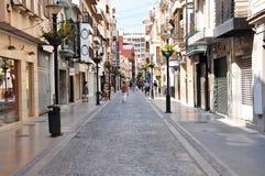 Valencia. Nice streets in Valencia, Spain Stock Photo