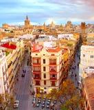 Valencia Old Town famoso, España Imagen de archivo libre de regalías