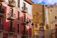 Valencia old town near Mercado Central market Spain Stock Images