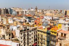 Valencia Old Town, Spanien Stockbilder