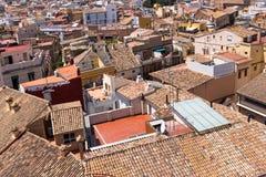 Valencia Old Town, Spanien Stockbild