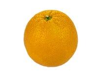 Valencia orange over white background Royalty Free Stock Photos