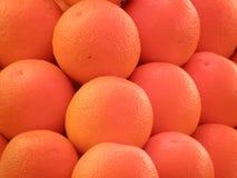 Valencia Oranges. Ripe oranges at a farm stand Royalty Free Stock Photos