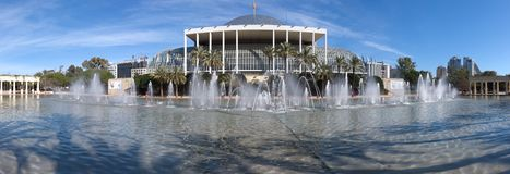 The Valencia Palace of Music Concert Hall royalty free stock images