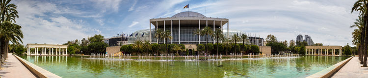 Valencia, the palace of music Stock Photography