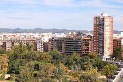 Valencia park Stock Image