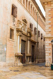 Valencia Patriarca museum in Calle Nave street Spain Stock Photography