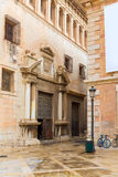 Valencia Patriarca museum in Calle Nave street Spain Royalty Free Stock Photography