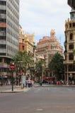 Valencia Plaça de L'Ajuntament Stockbilder