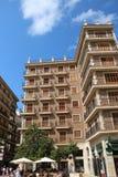 Valencia Plaça de la Verge Building stockfotografie