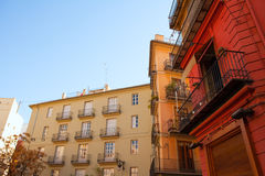 Valencia Placa Plaza del Tossal in Barrio del Carmen Royalty Free Stock Photos
