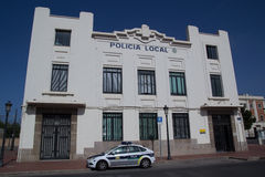 Valencia Police Royalty Free Stock Photo