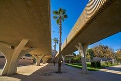 Valencia Pont de fusta bro de Madera Royaltyfri Foto
