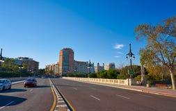 Valencia puente de Aragon bridge Royalty Free Stock Photo