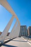 Valencia puente de Exposicion bridge in Alameda Stock Photo