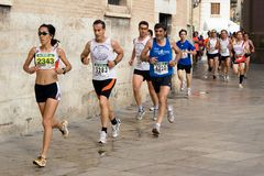 Valencia Run Stock Photography