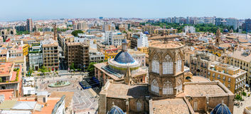 Valencia's Cathedral in Spain Royalty Free Stock Images