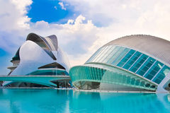 Valencia's City of Arts and Science Stock Image