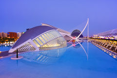 Valencia's City of Arts and Science Museum Royalty Free Stock Photos
