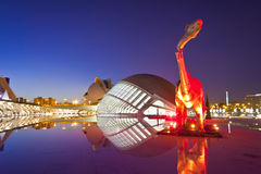Valencia's City of Arts and Science Museum Royalty Free Stock Photo